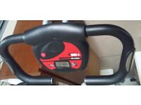 Exercise bike - 6month old, barely used (Meter display faulty)