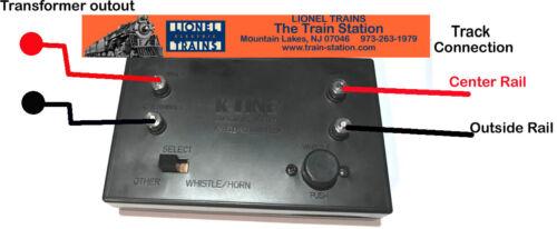 LIONEL K-LINE K-0952B RAILSOUNDS WHISTLE & or HORN CONTROLLER