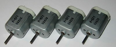 4 X Pc-280 Motors - 12 V Car Door Lock / Mirror Motor - Nichibo Automotive Motor