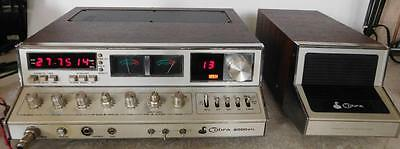 Cobra 2000GTL 40 Channel CB Radio Transceiver Base Station w/ Extra Channels