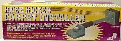 Adjustable Carpet Knee Kicker Stretcher Installing Installer Tool