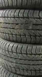 Used Tires. P235+60+16 INCH $350/4 TIRES (((90%TREAD)))