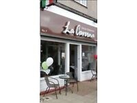 Chef ( Starter) Required For La Caverna Italian Restaurant