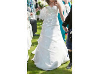 Maggie Sorretto Ivory wedding dress - size 10