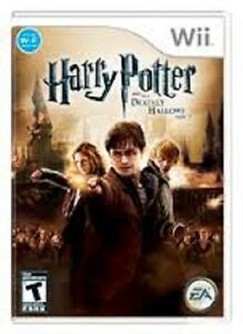 Harry Potter and the Deathly Hallows Part 2 Wii - used