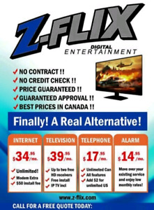 NO CONTRACT NO CREDIT CHECK FREE MODEM NO PRICE INCREASE!