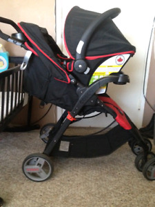 Carseat Base and Stroller
