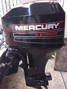 Mercury 50 hp 4 stroke outboard motors Melbourne CBD Melbourne City Preview