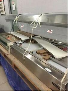Henny Penny 8' Heated Merchandiser Display Case - Self Serve - NEW w/ REDUCED PRICE - iFoodEquipment.ca