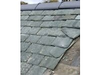Welsh blue slates