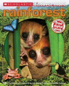 *Like New* Scholastic Discover More Rainforest