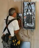 Licensed master electrician, 100A/200A panel upgrade