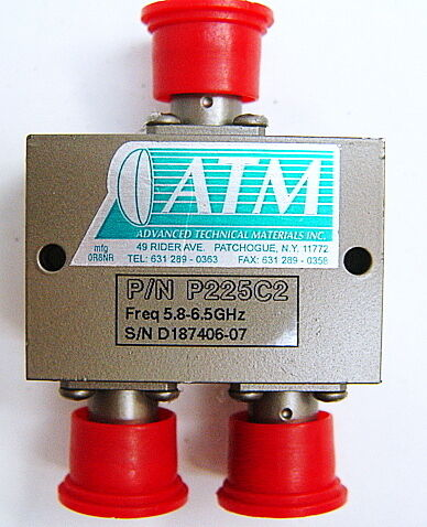 ATM P225C2 2-Way Power Divider 5.8-6.5 GHz