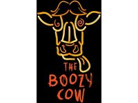 Part Time Kitchen Porter Required For Busy Edinburgh Restaurant, The Boozy Cow. Immediate Start