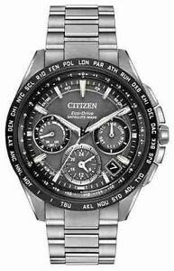 BRAND NEW Citizen Mens F900 GPS Satellite Wave Chrono CC9015-71E MADE IN JAPAN 6 YEAR WARRANTY @ MAPLE JEWELLERS