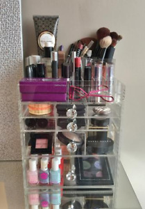 Makeup Organizer: Premium Crystal Clear Makeup / Vanity Storage