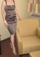 Brown Le Chateau Dress - Size Small