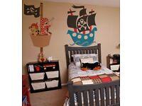 Children room designer - beautiful, colourful, educational murals for kids!