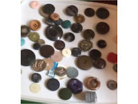 Job Lot of Vintage & Classic Buttons