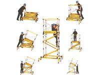 UGO Razadeck Extra (Razor Deck) Folding One Piece Access Platform - Three Levels RRP £1700