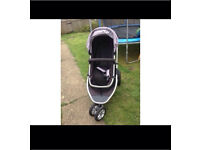 Mother care xpedior 2 colours 3 in 1 pram/stroller