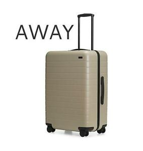 NEW AWAY THE MEDIUM SUITCASE LUGGAGE - SUITCASE - SPINNER - CARRY-ON - SAND 105966768