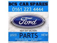 Ford. Mondeo mk 4. Front bumper black Blue. 2010. 2011. Used
