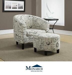 NEW MS VINTAGE FRENCH ACCENT CHAIRS - 109499259 - MONARCH SPECIALTIES