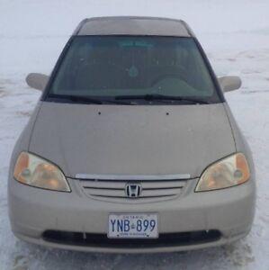 2002 Honda Civic LX-G Sedan