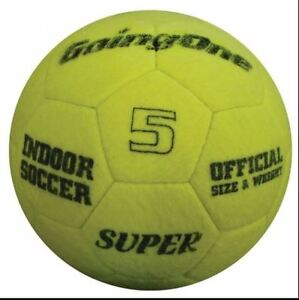 """Going One"" Felt Indoor Soccer Ball"