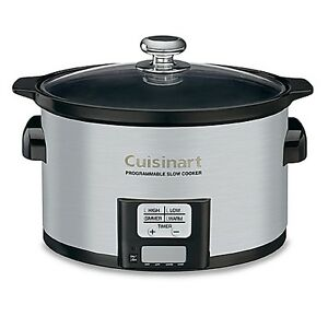 85% OFF!!! AMAZING! Cuisinart 3.5 Quart Programmable Slow Cooker