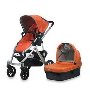 Uppababy Vista Stroller-bassinet 3 in1+.(car seat,adapter).