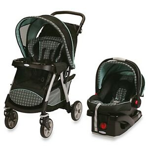 Graco Click Connect Set (Stroller, Car Seat, and Base)