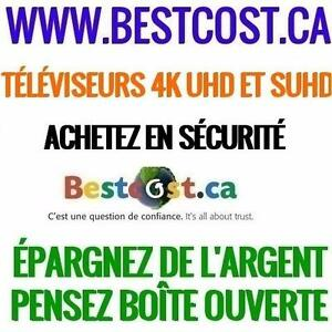BESTCOST ÉLECTRONIQUE - TÉLÉVISEURS TV 4K UHD ET SUHD - VISITEZ NOTRE SITE WEB BESTCOST.CA