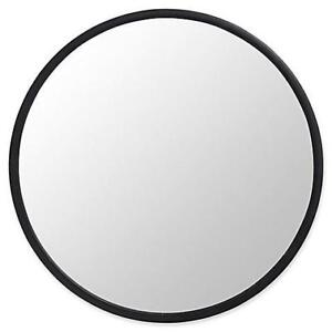 New Umbra® Hub 24-Inch Round Wall Mirror in Black (Pick-up Only) - DI8