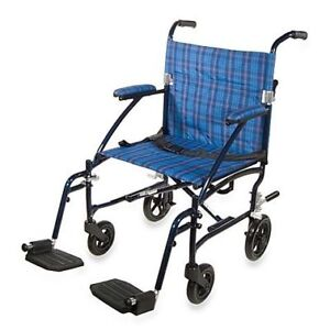 New in Box Transport Wheelchair - Easy to Fold