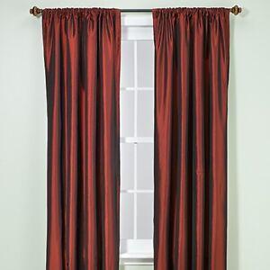 "Pole Top Room Darkening Window Panels - 54"" W x 84"""