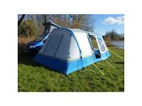 LOOPO BREEZE INFLATABLE CAMPER VAN AWNING BLUE/GREY ALL SIZES
