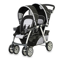 Chicco Cortina Poussette Double Stroller Romantic