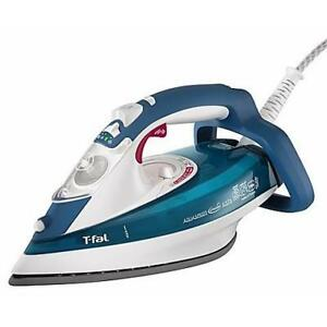 New Open Box T-Fal® Aquaspeed Autoclean Iron in Blue PU2