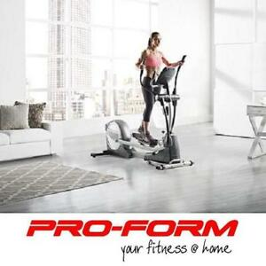 "NEW PROFORM 735 STRIDER ELLIPTICAL PFEL18014 136166068 5"" BACKLIT 22 WORKOUTS EXERCISE EQUIPMENT SMART STRIDERS ELLIP..."