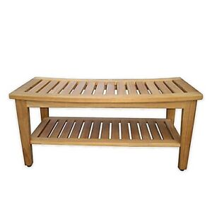Haven™ Teak Double Shower Bench