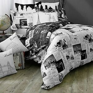 FINAL PRICE   TWIN SIZE WHITE DUVET + DUVET COVER + PILLOW SHAM