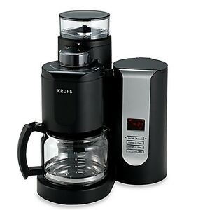 Coffee maker/grinder