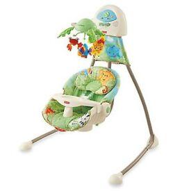 Fisher-Price Rainforest Cradle Swing