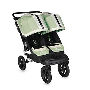 Baby Jogger™ City Elite Double Stroller - Green (used)