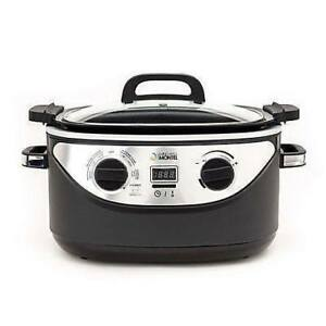 Pro Plus 6 in 1 DIGITAL COOKER Brown box