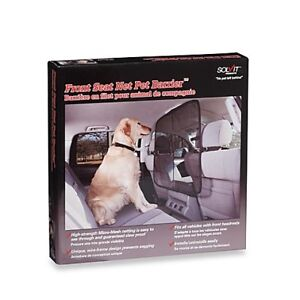 Solvit  Front  Seat  Net  Pet  Barrier  for car. New