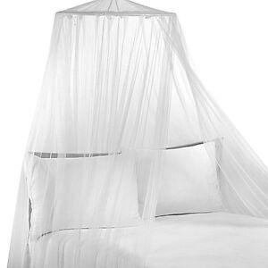 CIEL DE LIT NEUF/ NEW SIAM WHITE BED CANOPY
