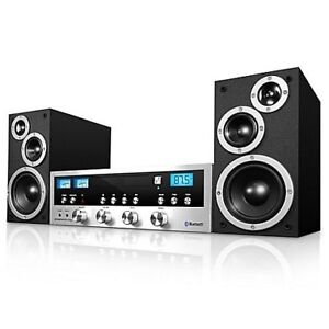 Innovative Technology™ CD Stereo System with Bluetooth / Black